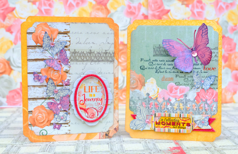 Moments_Papercraft_Saturday_Ayumi_Iwashita_BoBunny_Aryia's_Garden_Collection_Pentart_Chameleon_Wax_Pastes_01