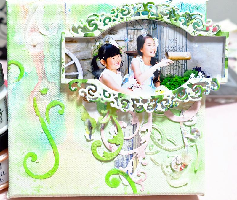 Joyful_MixedMedia_Monday_Ayumi_Iwashita_BoBunny_Serendipity_Collection_Pentart_Stencil_Paste_04